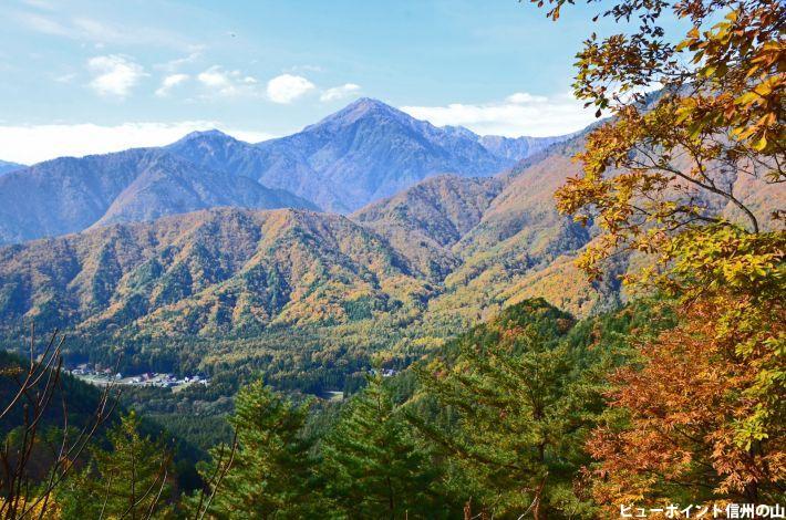 秋の蓮華岳