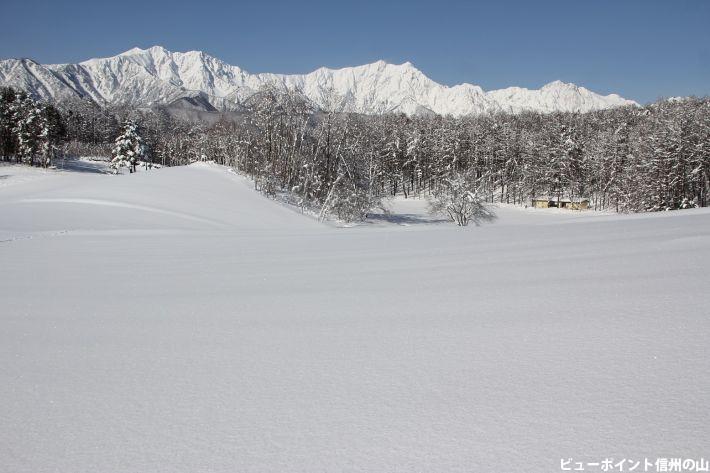 静寂の中山高原