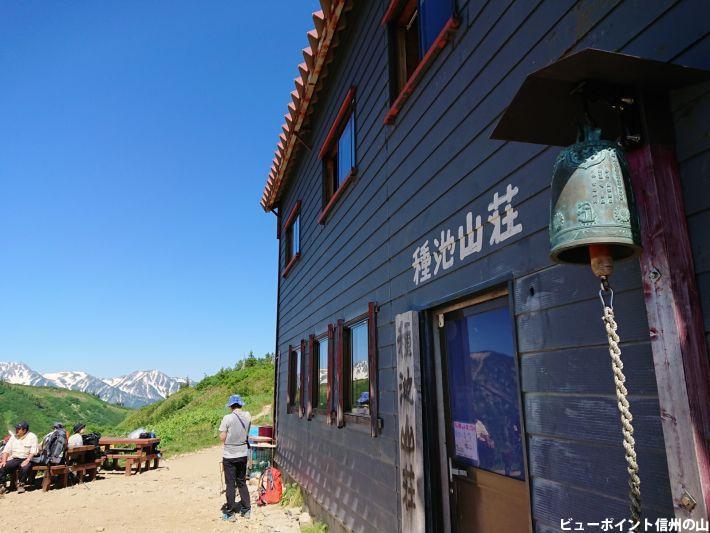 爺ヶ岳の種池山荘