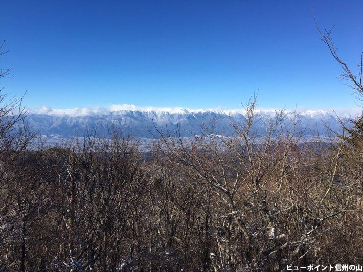 戸谷峰からの眺望