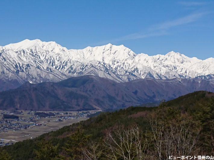 鷹狩山からの絶景