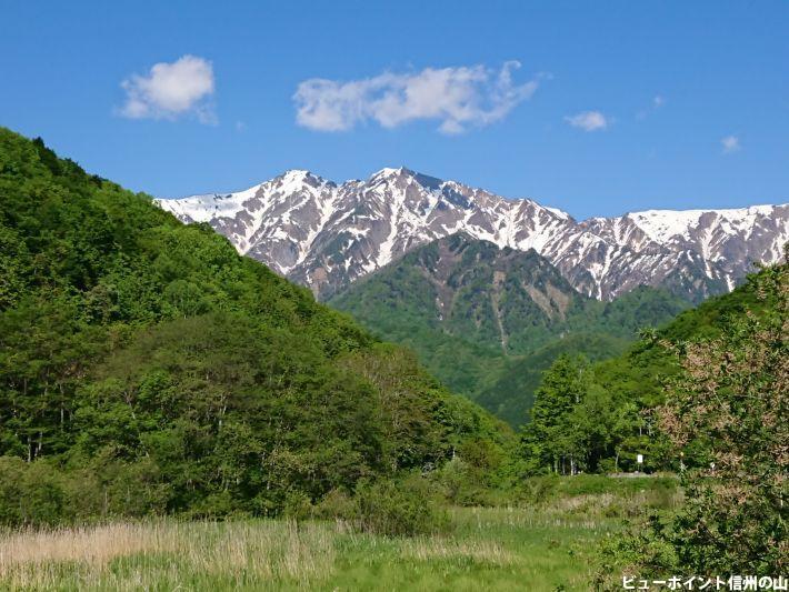 湿原と鹿島槍ヶ岳