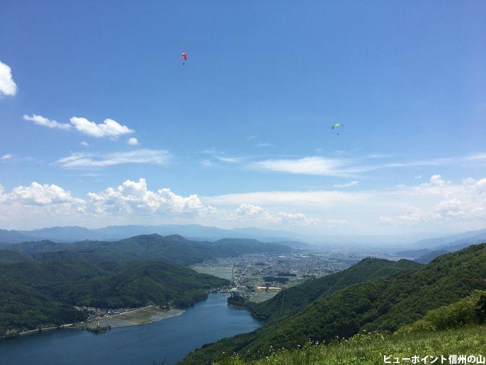 小熊山から大空へ